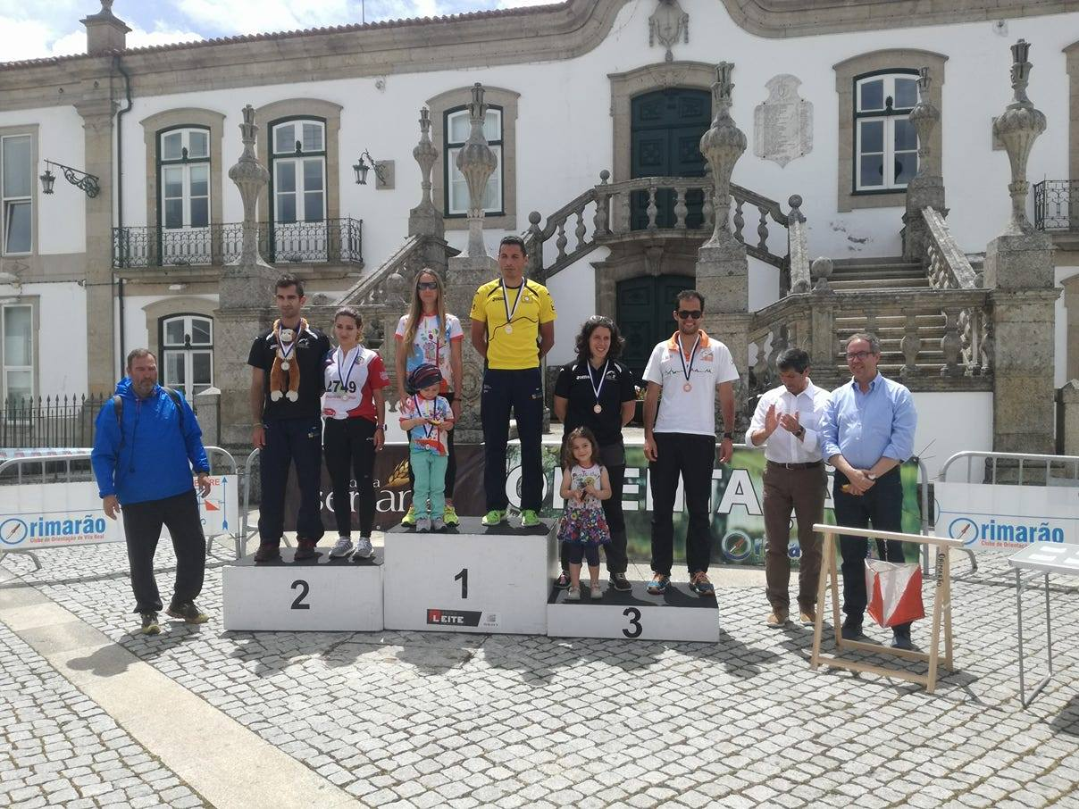 Pódio Seniores - Vila Real City Race